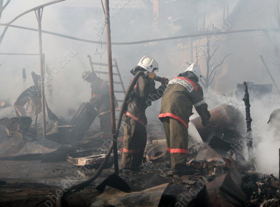 ВИвантеевке сгорел дом, погибла женщина