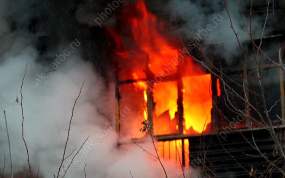 На пожаре в центре Саратова погибли 2 человека