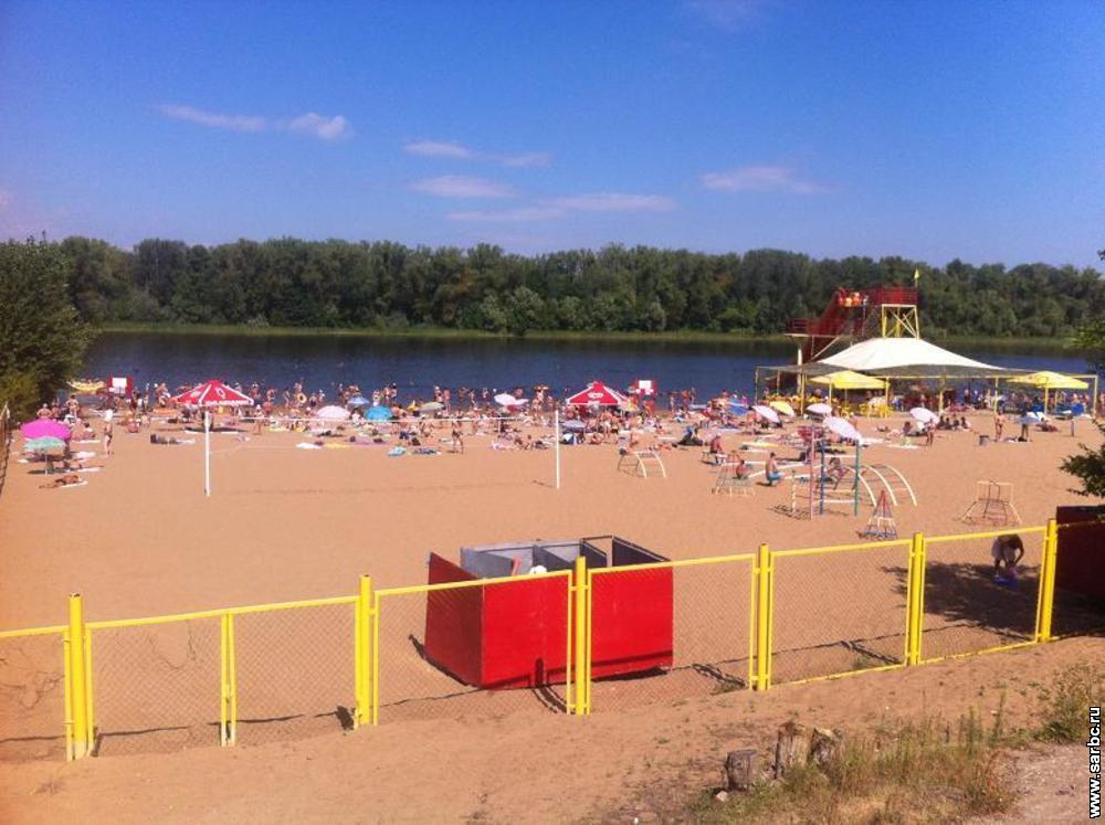 Энгельсский берег оштрафовали на 200 тыс. за нелегальный забор наберегу