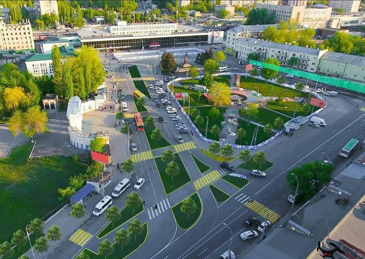 Саратовцев приглашают наслушания поблагоустройству Привокзальной площади