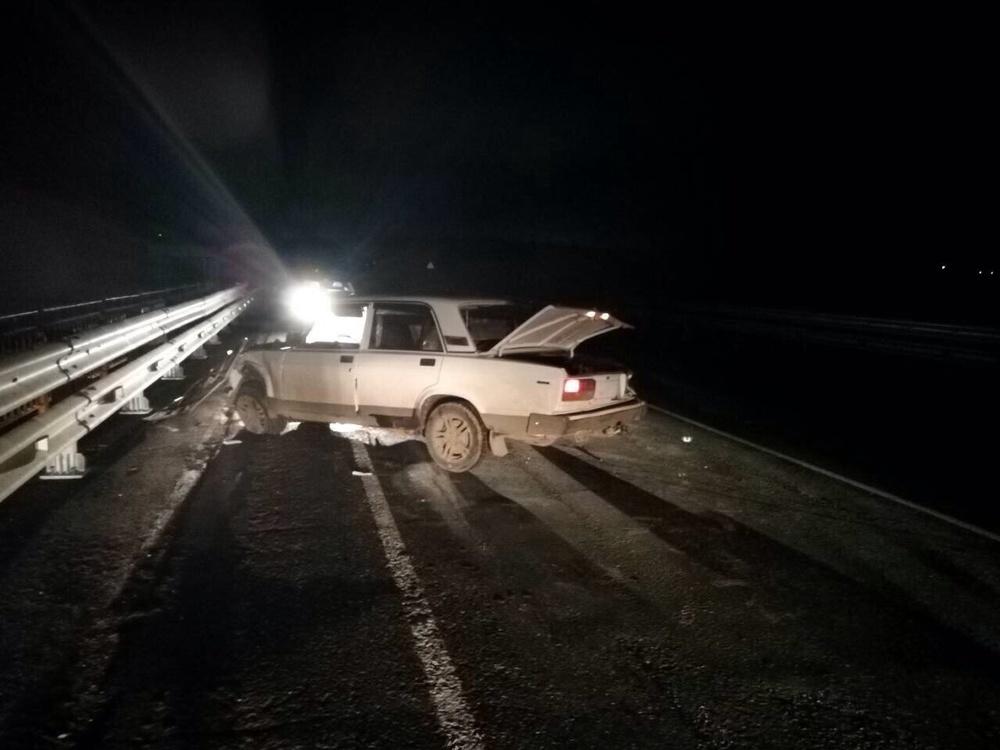 Под Вольском шофёр  исчез  сместа трагедии , оставив пострадавших пассажиров