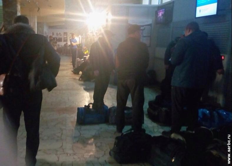 ВСаратове на15 часов отложен вылет самолета доШереметьево