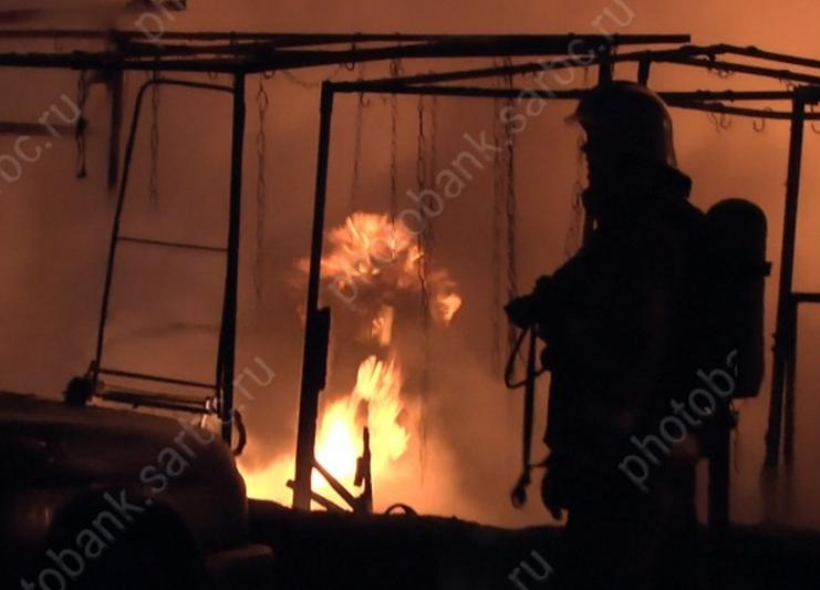 Двое мужчин пострадали при возгорании ввагончике около Журавлихи
