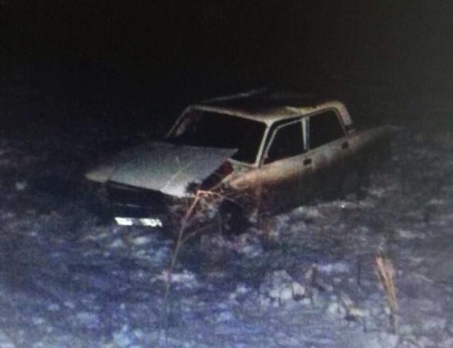 Вперевернувшейся машине пострадала молодая пассажирка