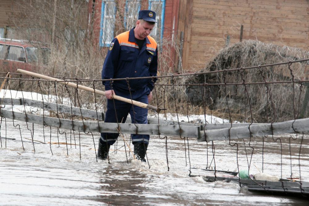 ВСаратовской области возросло  число подтопленных домов