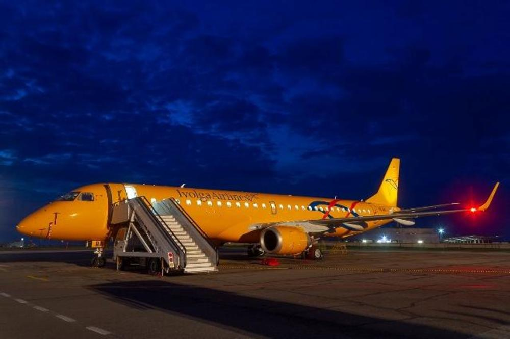 В Саратов прилетел самолет в ливрее Ivolga Airlines