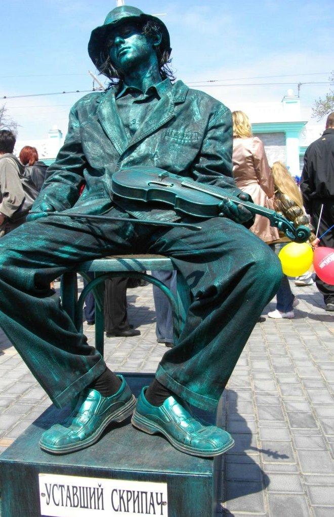 Живые статуи своими руками 77