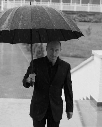 Высокотехнологичный зонт для Путина. Дождь и випы | Электронное ZA410