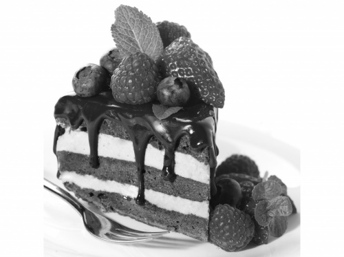 Фото с тортами и напитками