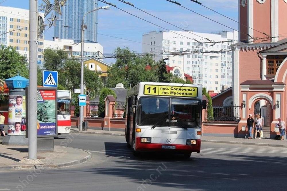 В городе не нашли другое место для стоянки автобусов N11