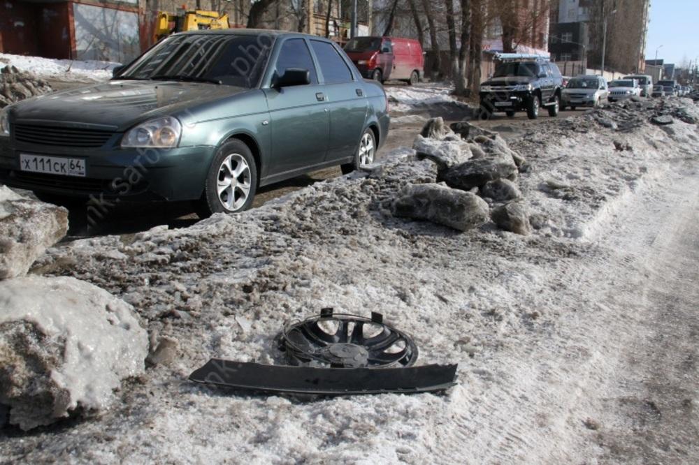 Жители района перестали жаловаться на неочищенные тротуары