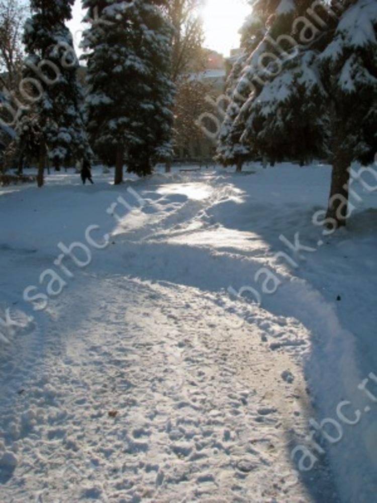 В Саратове морозы до - 17 градусов и солнце