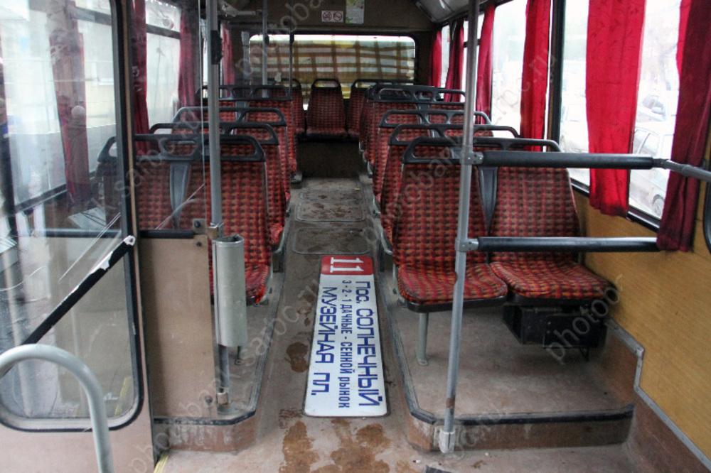 Предложено наказывать за антисанитарию в салонах общественного транспорта