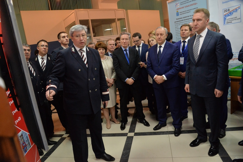 Вице-премьер Шувалов о новом аэропорте Саратова: