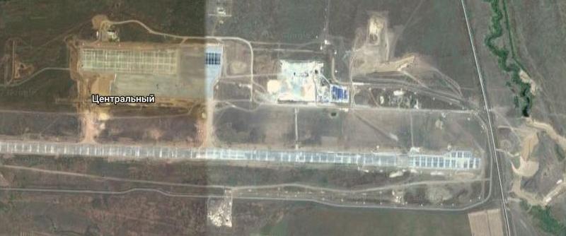 У строящегося аэропорта
