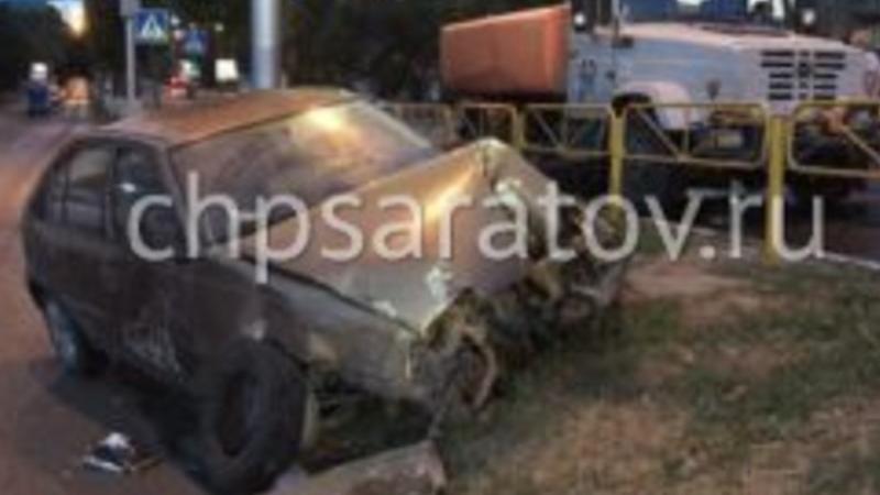 Уходившая от погони ДПС машина с пьяным водителем устроила массовое ДТП
