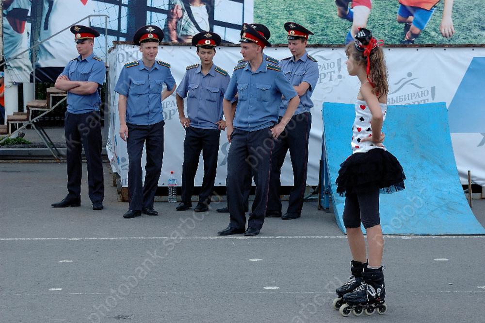 В ГУ МВД объяснили скопление полицейских на улицах