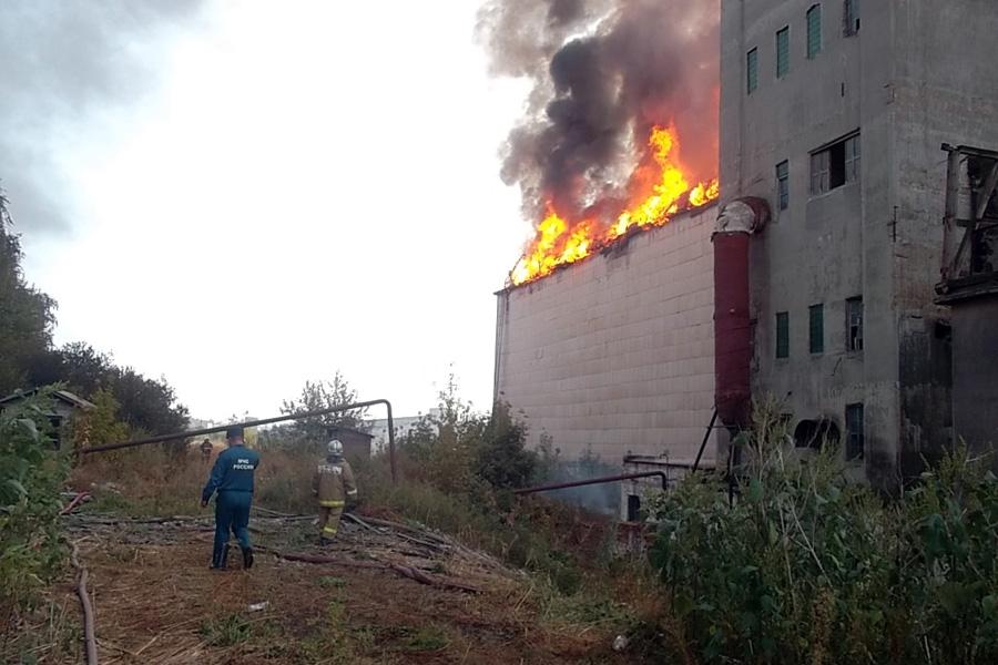 Пожар на элеваторе в томылово фольксваген транспортер т4 б у в спб